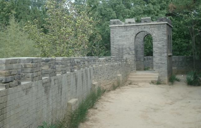 美高梅网址建筑城墙